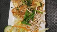 Pad Thai, classic noodle dish